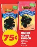 Unico Olive Pouch - 200 mL