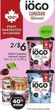 Iögo Canadian Harvest Yogurt