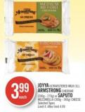 Joyya Ultrafiltered Milk (1l) - Armstrong Cheddar (200g - 270g) or Saputo Mozzarella (300g - 340g) Cheese