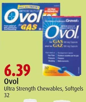 Ovol Ultra Strength Chewables - Softgels 32