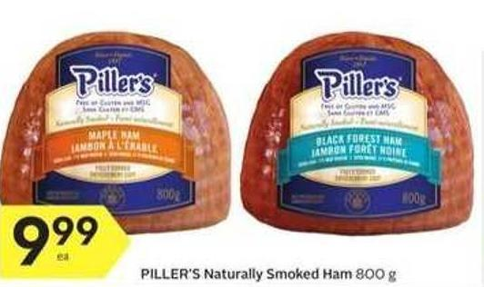 Piller's Naturally Smoked Ham