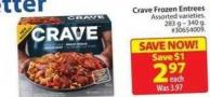 Crave Frozen Entrees