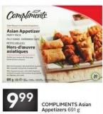 Compliments Asian Appetizers