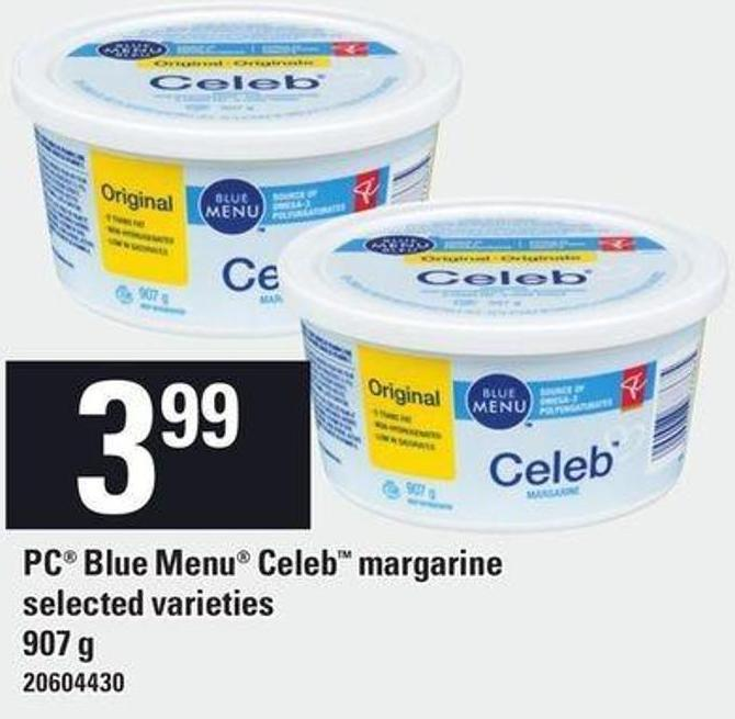 PC Blue Menu Celeb Margarine - 907 G