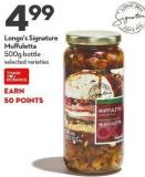 Longo's Signature  Muffuletta  500g Bottle