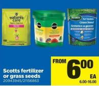 Scotts Fertilizer Or Grass Seeds