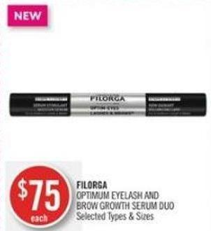 Filorga Optimum Eyelash And Brow Growth Serum Duo