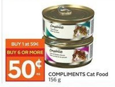 Compliments Cat Food