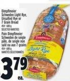 Dimpflmeier Schweden Light Rye - Unsalted Rye Or 7grain Bread 454 - 680 g