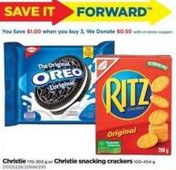 Christie - 170-303 G Or Christie Snacking Crackers - 100-454 G