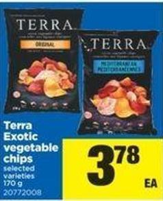Terra Exotic Vegetable Chips.170 G