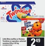 Little Bites Muffins Or Hostess Twinkies Or Cupcakes - 234 G-1.01 Kg