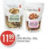 PC Trail Mix 600g - 800g