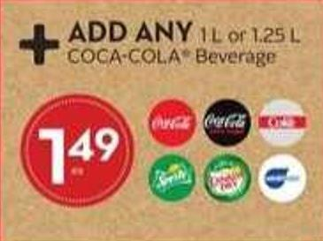 Add Any Coca-cola