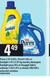Purex 1.47-2.03 L - Persil 1.18 L Or Sunlight 1.47 L/1.47 Kg Laundry Detergent - Sunlight Pacs 24's Or Snuggle Fabric Softener 1.43/1.47 L Or Sheets 105/120's
