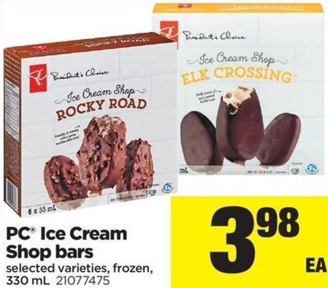 PC Ice Cream Shop Bars - 330 mL