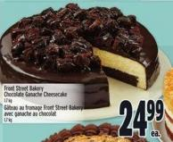 Front Street Bakery Chocolate Ganache Cheesecake