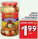 Unico Pickled Vegetables
