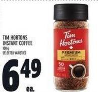 Tim Hortons Instant Coffee