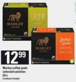 Marley Coffee PODS - 24's