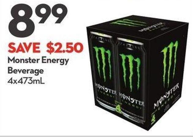 Monster Energy Beverage
