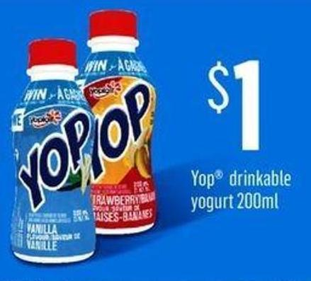 Yop Drinkable Yogurt - 200ml