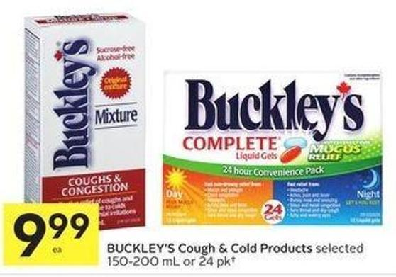 Buckley's Cough & Cold Products