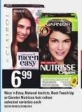 Nice 'N Easy - Natural Insticts - Root Touch Up Or Garnier Nutrisse Hair Colour