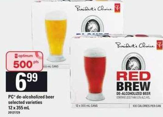 PC De-alcoholized Beer - 12 X 355 mL