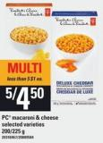 PC Macaroni & Cheese - 200/225 G