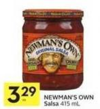 Newman's Own Salsa 415 ml