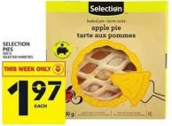 Selection Pies