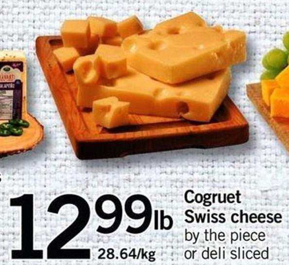 Cogruet Swiss Cheese