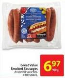 Great Value Smoked Sausage