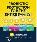Renewlife Probiotics - 14-60 Each Or 60 G
