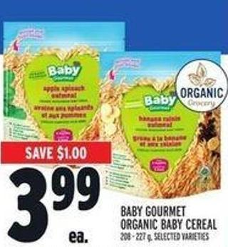Baby Gourmet Organic Baby Cereal