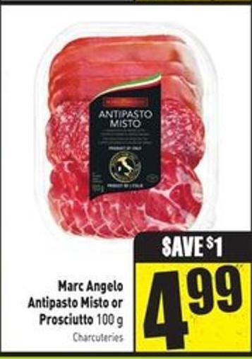 Marc Angelo Antipasto Misto Or Prosciutto - 100 g