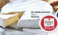 PC Double Cream Brie 200 g