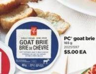 PC Goat Brie - 165 g