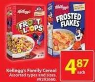 Kellogg's Family Cereal