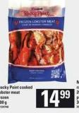 Rocky Point Cooked Lobster Meat - 200 g