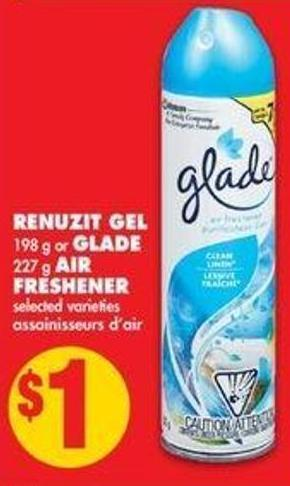 Renuzit Gel - 198 g or Glade - 227 g Air Freshener