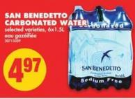 San Benedetto Carbonated Water - 6x1.5l