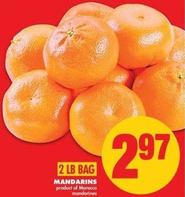 Mandarins - 2 Lb Bag