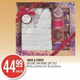 India & Purry Deluxe Spa Robe Gift Set
