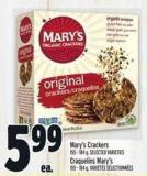 Mary's Crackers