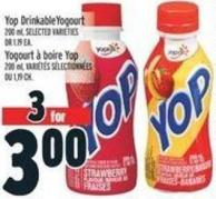 Yop Drinkable Yogourt 200 ml