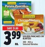 Golden Pancakes Or Blintzes