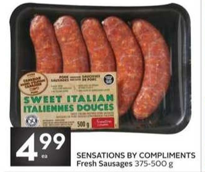 Sensations By Compliments Fresh Sausages