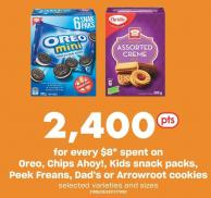 Oreo - Chips Ahoy! - Kids Snack Packs - Peek Freans - Dad's Or Arrowroot Cookies